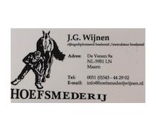 J.G. Wijnen Hoefsmederij